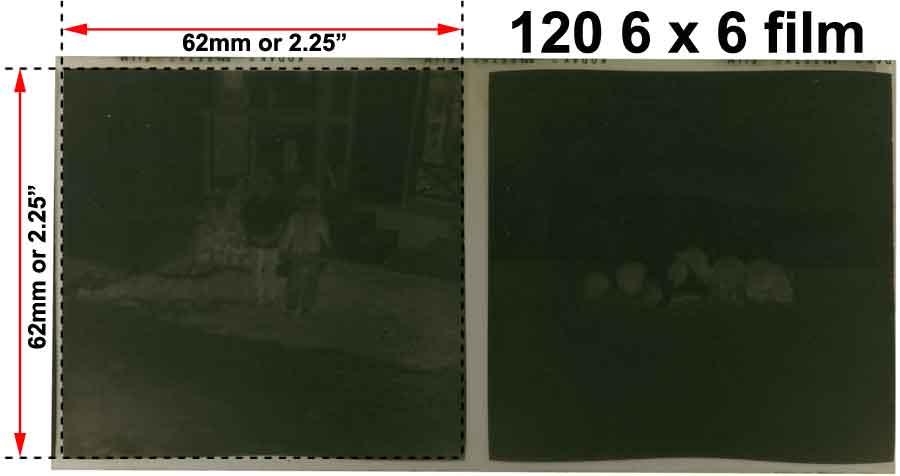 Affordable 120 620 Medium Format Film Scanning Transparency Scanning