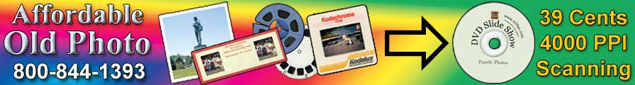 35mm slide scanning service All Slides scanned at 3200 ppi
