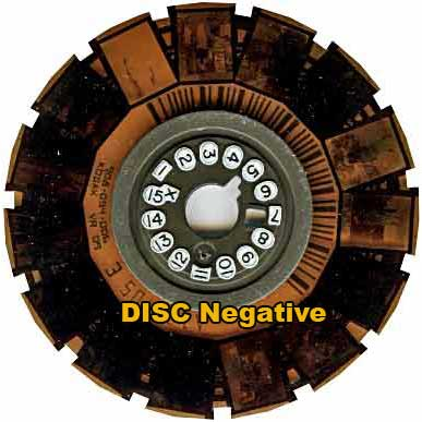 Disc Negative reel