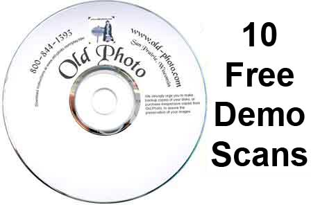 Free slide scanning offer and dvd slide show